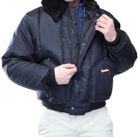 RefrigiWear 0356 Iron-Tuff Tanker Insulated Work Jacket - Front Zipper