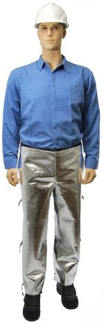 Otterlayer aluminized chaps front full height LC4-ACF