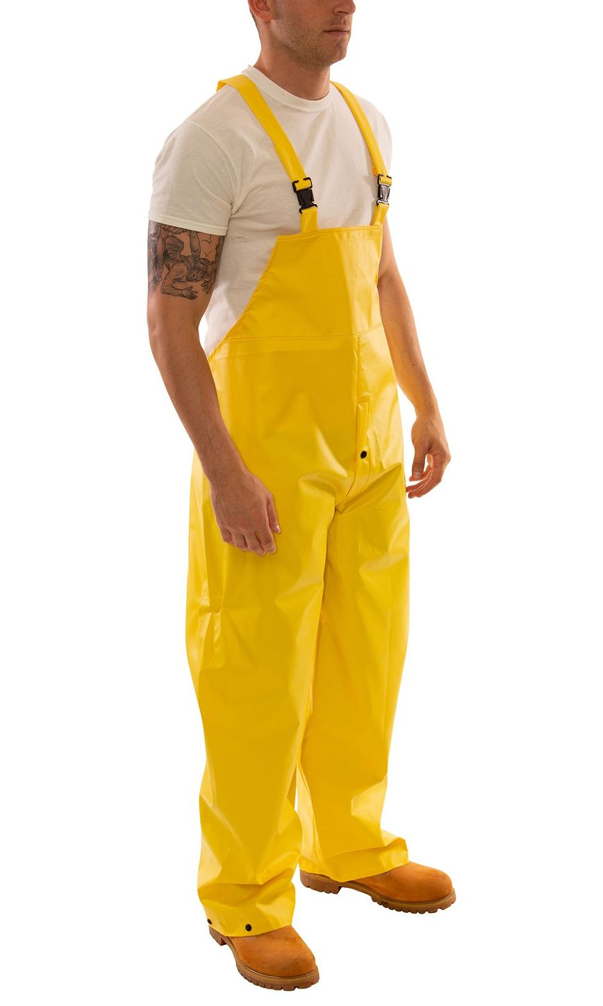 Tingley O56107 DuraScrim™ Fire Resistant Overalls - PVC Coated, Chemical Resistant, with Snap Fly Front Side