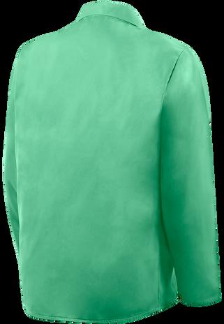 """Steiner Weldlite Flame Retardant Jacket Cotton 30"""" 1030 Back"""