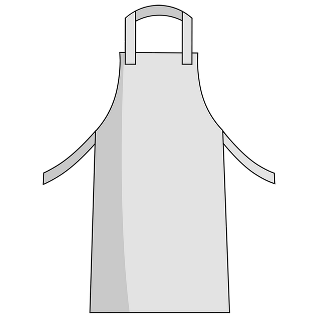 Otterlayer aluminized apron A31-ACF