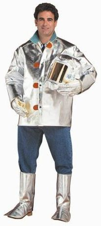 "CPA 19 oz Aluminized Carbon Kevlar 30"" Jacket"