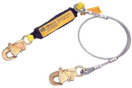 DBI Sala 1240706 EZ Stop II Shock-Abzorbing Lanyardfrom Capital Safety