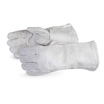 Superior Welders Gloves - 505Q Iron Wolf Economy Grey