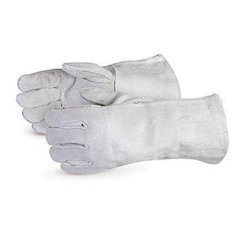 Superior Welders Gloves - 505Q Iron Wolf Economy Grey
