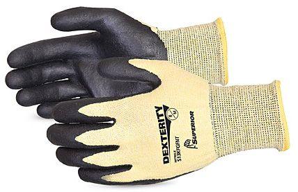 Cut Resistant ASTM 4 Kevlar Gloves - Superior S13KFGPU