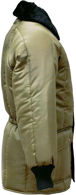 RefrigiWear 0358 Iron-Tuff Siberian Winter Work Coat Sage Right