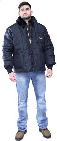RefrigiWear 0322 Iron-Tuff Insulated Work Jacket - Front View
