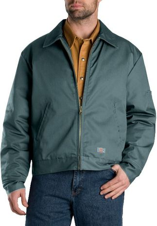 Dickies Men's Outerwear - Lined Eisenhower Jacket TJ15 - Lincoln Green