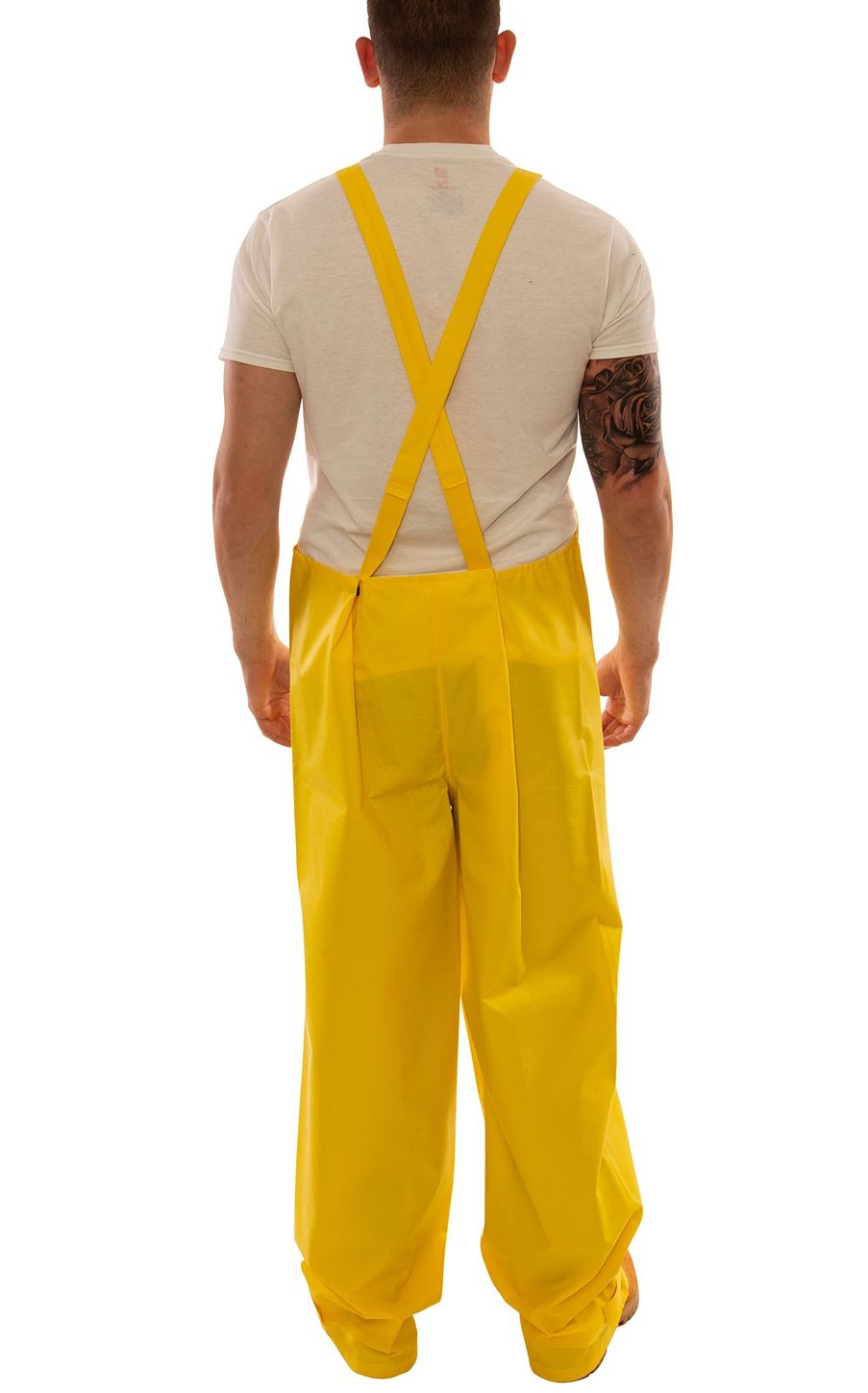 Tingley O56107 DuraScrim™ Fire Resistant Overalls - PVC Coated, Chemical Resistant, with Snap Fly Front Back