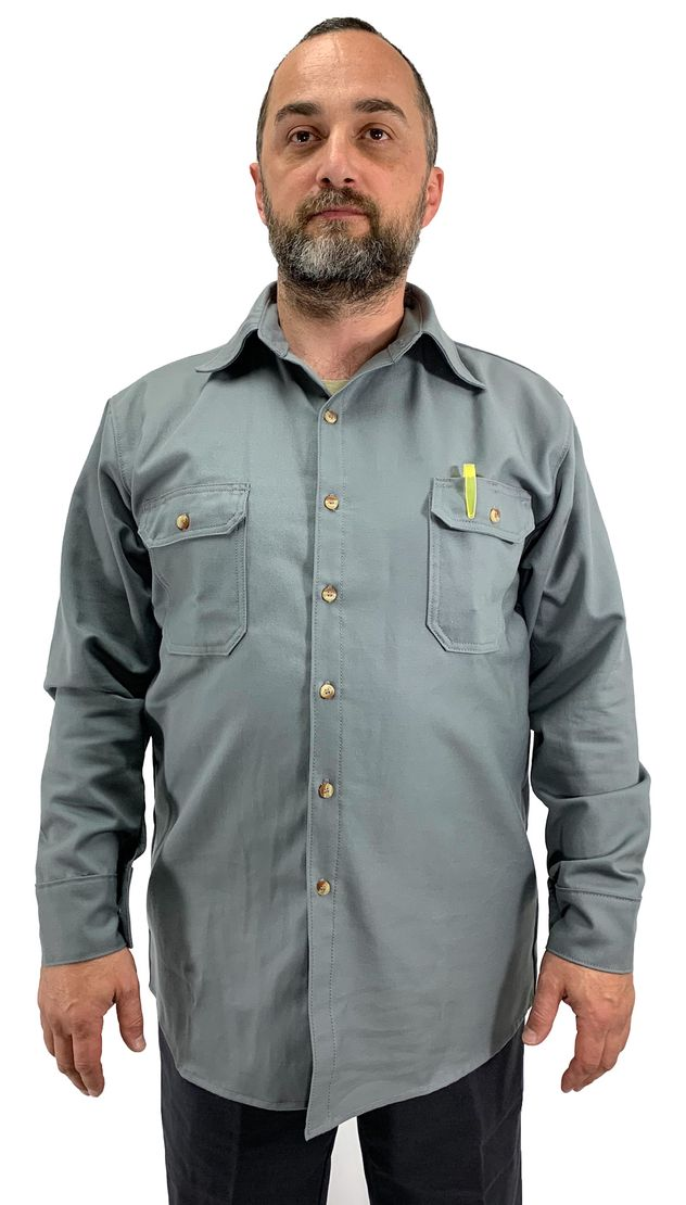 chicago-protective-apparel-625-usgy7-7oz-gray-ultrasoft-arc-rated-work-shirt-charcoal-grey-front.jpg