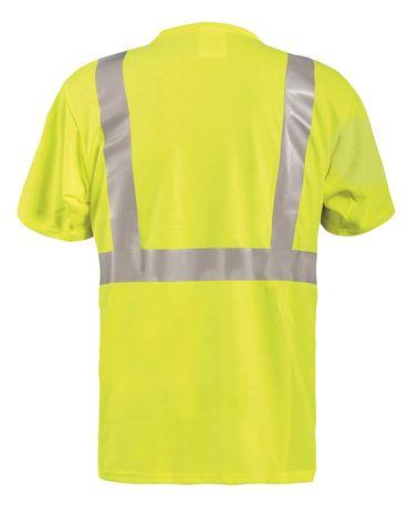 Occunomix LUX-TP2/FR Hi-Viz Flame Resistant Short Sleeve T-Shirt Back