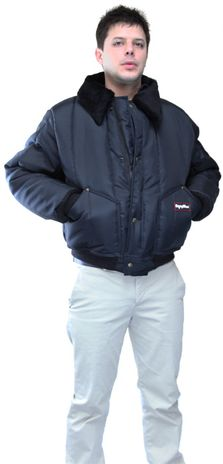 RefrigiWear 0356 Iron-Tuff Tanker Insulated Work Jacket - Pockets
