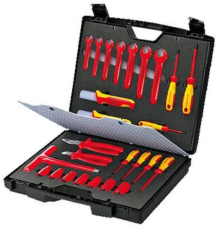 Knipex Tools Metric Electrician's Insulated Tool Set 98 99 12