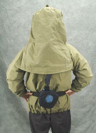 CPA Arc Flash Kit with Belt Mounted Fan Blower