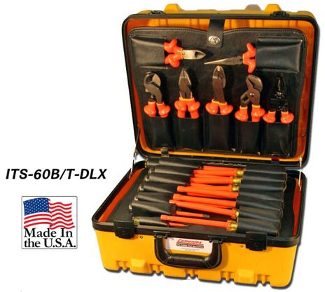 Cementex ITS-60B Insulated MRO Super Kit, 60PC