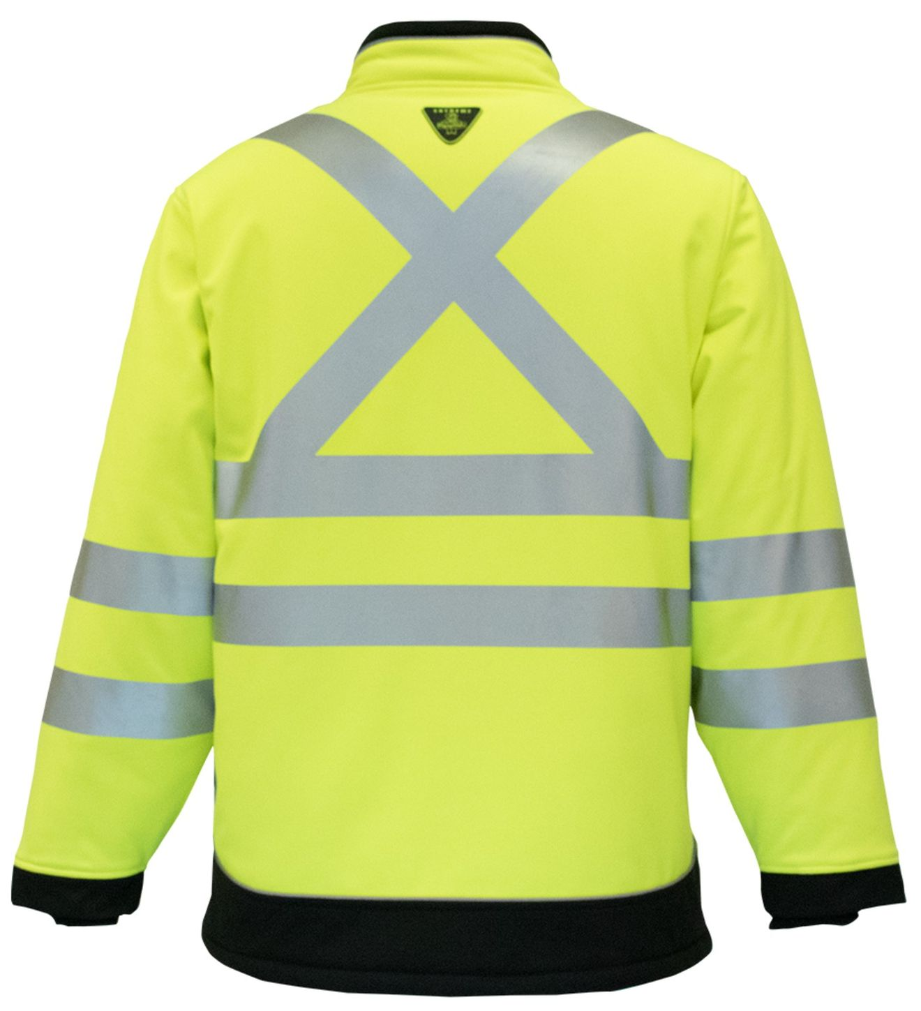 RefrigiWear 0796 HiVis Extreme Collection Softshell Jacket Back