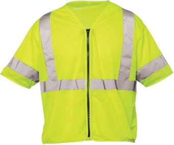 OK-1 Class 3 Safety Vests S3L-04 in Yellow