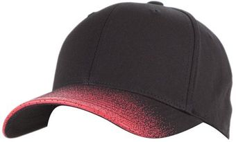 RefrigiWear Cold Weather Apparel - Sideline Ball Cap 6199 - Black and Red