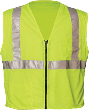 OK-1 Economy Safety Vests S1L in Yellow