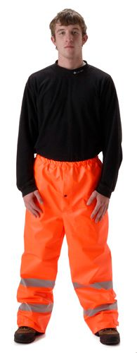 nasco sentinel hi viz arc flash chemical resistant rain pants