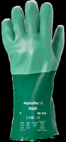 Ansell Scorpio Neoprene Gloves 8-352 - Cotton Interlock Lined Back