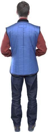 RefrigiWear 0599 Cooler Wear Insulated Work Vest - Back View