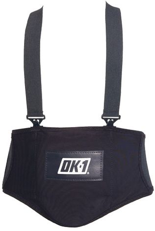 OK-1 Lumbar Support Belt 1000S - Anti-Vibration, with Detachable Suspenders
