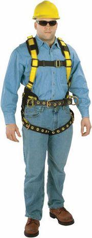 MSA Workman Construction Harness - Back Side