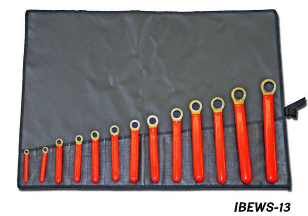 Cementex IBEWCB-6 Standard Box End Wrench Set, 6PC