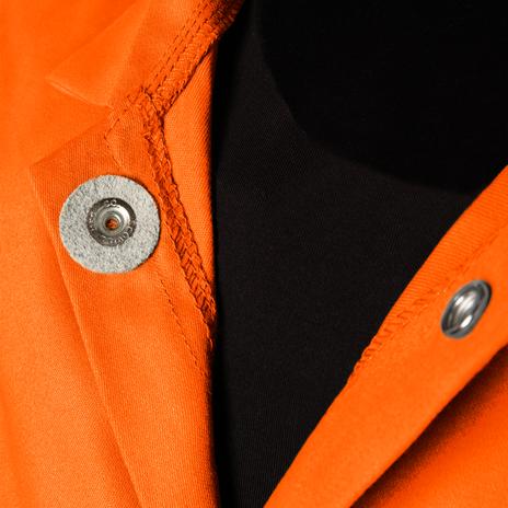 """Steiner Weldlite Flame Retardant Jacket Cotton 30"""" 1040 Example"""