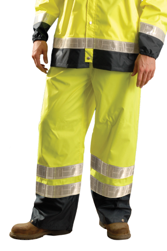 Occunomix LUX-TENRGT High Visibility Breathable Rain Pants