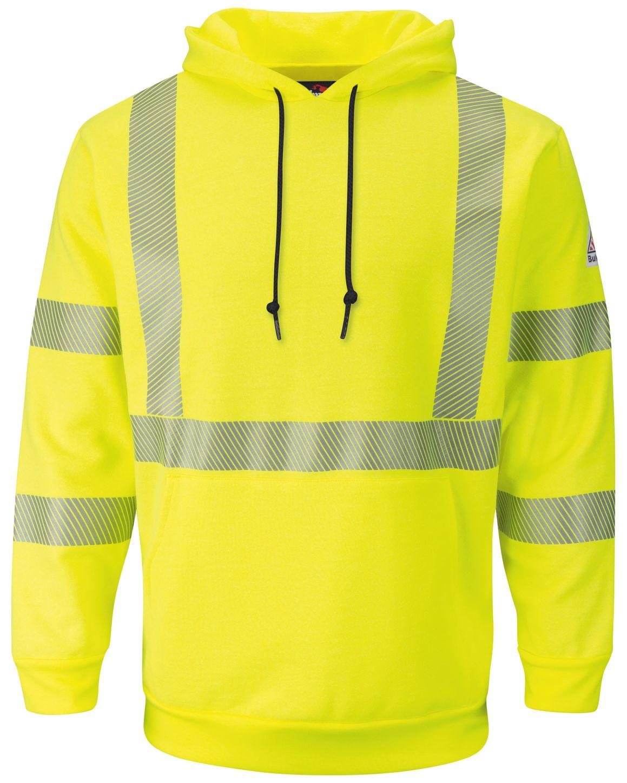 bulwark-fr-hi-visibility-sweatshirt-smh4-fleece-hooded-pullover-yellow-green-front.jpg