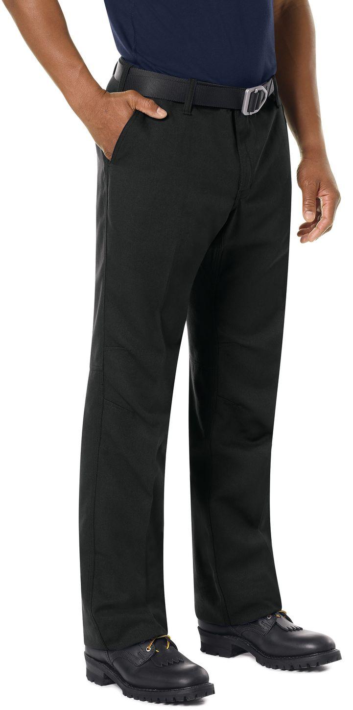 Workrite FR Pants FP30 Wildland Dual-Compliant Uniform Black Example Right