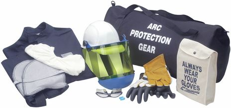 Arc Flash Rated Electrician Suit 12 Calorie HRC 2 with Coat and Leggings