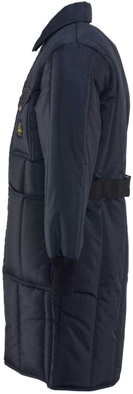 RefrigiWear 0341 Iron-Tuff Inspector Insulated Work Coat Knee Length Left