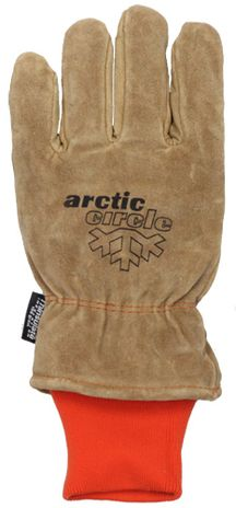 Very Warm Cold Weather/Freezer Gloves - Back View