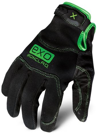 Ironclad motor Pro EXO series gloves back