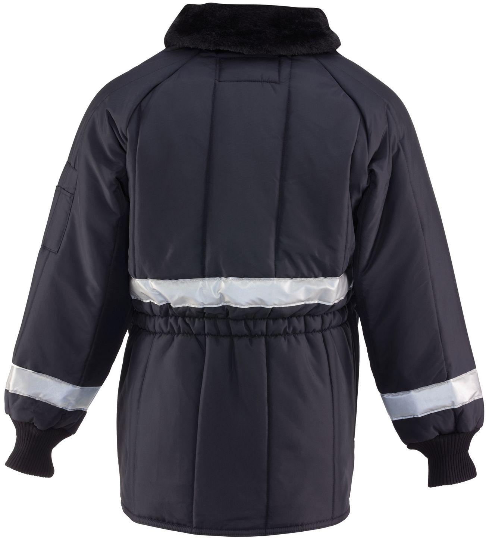 RefrigiWear 0343 Iron-Tuff Siberian Vinter Work Coat With Reflective Tape Back