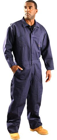 Arc Flash and Flash Fire Resistant Coverall Occunomix G909I in Navy