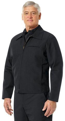 Workrite FR Firefighter Jacket FW20 Black Example Left