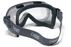 Crews Verdict Goggles with Anti-Fog Lens and Foam Seal