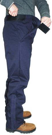 CPA 12 Cal Arc Flash Overpants SWP-12 - Waist Adjustment