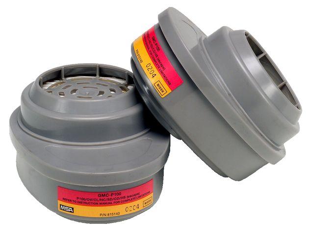 MSA Advantage 815364 OV and Acid Gas GMC Cartridge with P100 Filter