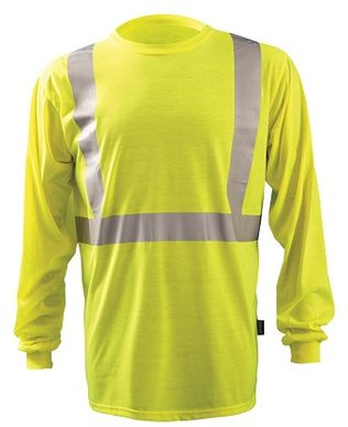 Occunomix LUX-LST2 Long Sleeve Wicking T-Shirt