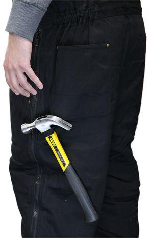 RefrigiWear ComfortGuard High Bib Work Overall 0685 - Tool Loop