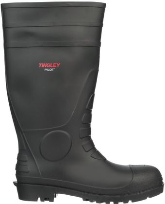 """Tingley Economical PVC Rubber Boots 31151 - 15"""" Tall Side"""