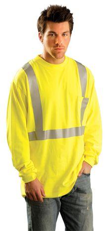 Occunomix Hi Vis FR Fire Retardant Arc Flash Shirt - LUX-LST2/FR Example