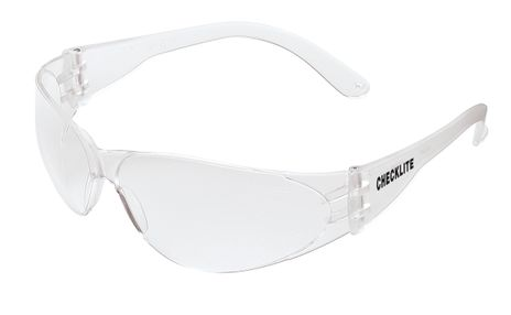 MCR Safety Crews Checklite Glasses Clear Uncoated