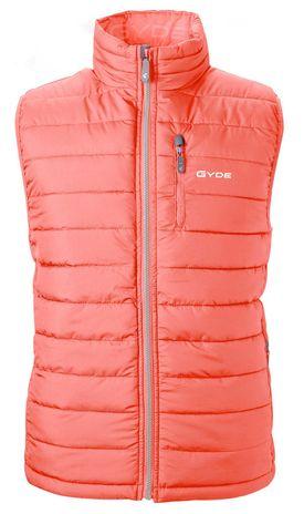 Gyde Supply Calor Fitted Vest G2V71501, Coral Color, Women's